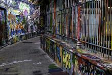 Street Graffiti In The City Of...