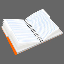 Notepad With Metal Spiral Turn...