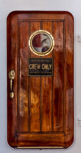 Door Of A Old Sailing Ship