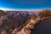 Night Falls Over Grand Canyon ...