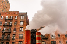 Steam Pipes In New York City