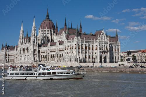Fotografie, Obraz  Hungarian Parliament Building in Budapest