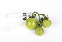 Small Green Tomatoes Grape Wit...