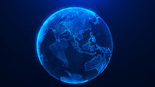 Global Planet Background. Glob...