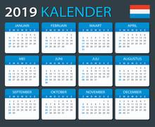 Calendar 2019 - Dutch Version