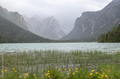 Spoed Foto op Canvas Khaki Dolomites Italy, Landscape and nature