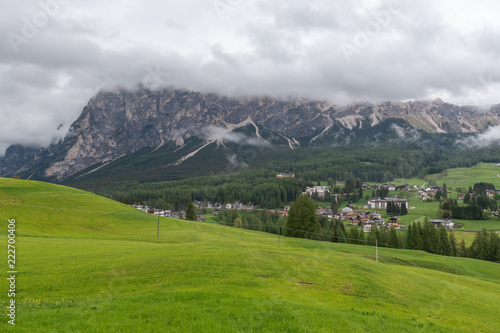 Foto op Canvas Wit Dolomites Italy, Landscape and nature