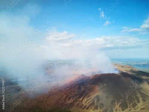 Beautiful masaya volcano