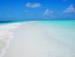 the beach in Maldives