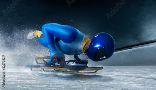 Fotografering skeleton sport