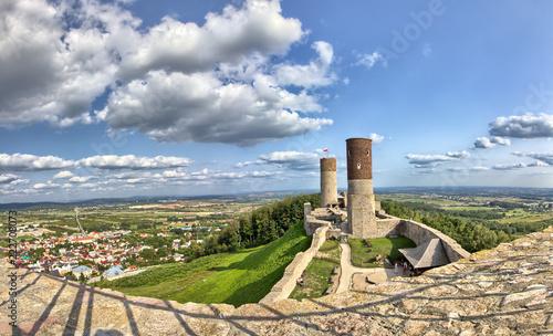 Foto auf Leinwand Beige Checiny Royal Castle near Kielce - Poland