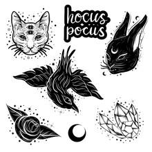 Witchcraft, Magic Atributes Co...