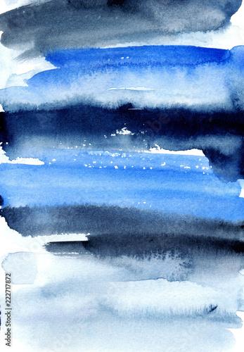 niebieskie-i-szare-tlo-akwarela