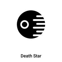 Death Star Icon Vector Isolate...