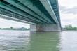 Eisenbahnbrücke zwischen Mannheim und Ludwigshafen
