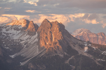 Fototapeta Dolomites, Italy photography in summer