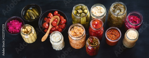 Photo  Fermented preserved food
