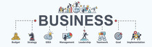 Business Banner Web Icon For B...
