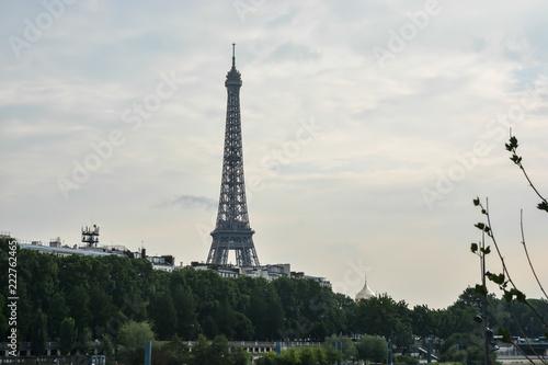 Staande foto Parijs Eiffel tower in Paris.