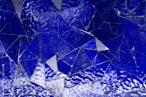 niebieski-pusty-wzor-mozaiki-szklanej-trojkat-lustro-ktore-moga-byc-uzywane