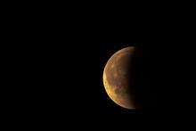 Blood Moon During Lunar Eclipse, Blood Moon