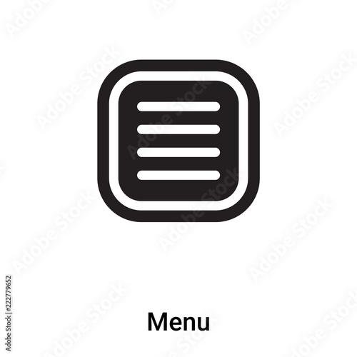 Menu background logo
