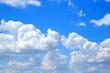 canvas print picture - Himmel und Wolken