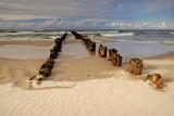 Fototapeta Fototapety z morzem do Twojej sypialni - Wybrzeże Bałtyku w letni słoneczny dzień