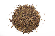 Seeds Of A Milk Thistle On Whi...