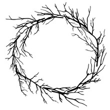 Wreath Of Dead Branches,