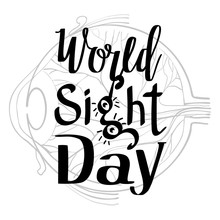 Sight Day Concept Background. Simple Illustration Of Sight Day Vector Concept Background For Web Design
