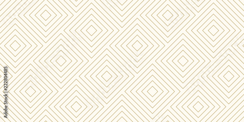 Tela Background pattern seamless diagonal square shape abstract gold color and line