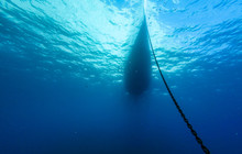 Boat View From Underwater