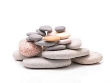 Pile Of Stacked Stones. Zen R...