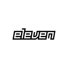 Custom Modern Number Eleven Symbol