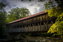 Albany Covered Bridge In The W...
