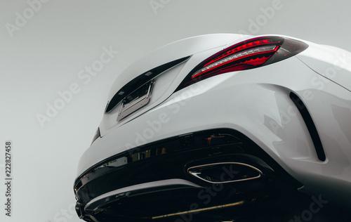 View Below Modern Luxury Back Bumper Lights And Powerful Beast