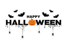 Happy Halloween Background Tex...