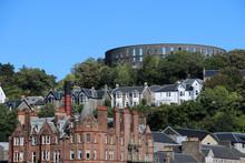 Hafenstadt Oban, Schottland