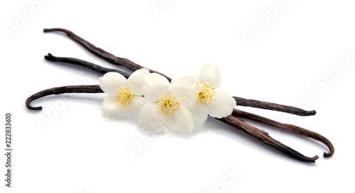 Foto op Canvas Aromatische Vanilla sticks.