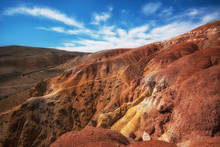 Valley Of Mars Landscapes In T...