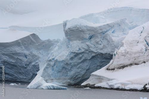 Foto op Plexiglas Gletsjers Antarktis- Gletscher