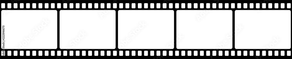 Fototapety, obrazy: Film strip. Vector