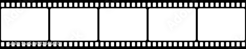 Fotografiet Film strip. Vector