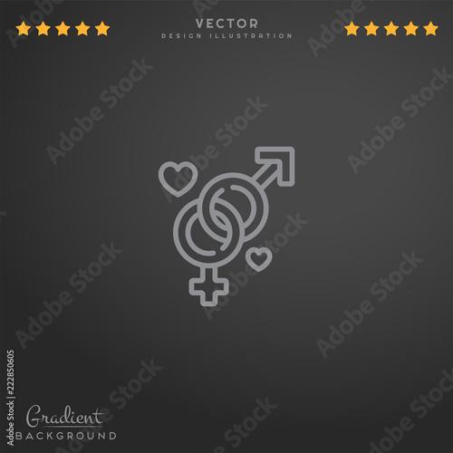 Секс логотип на веб