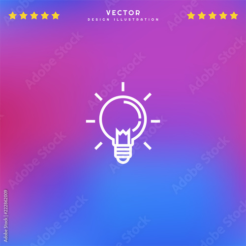 Premium Symbol of Ideas Related Vector Line Icon Isolated on