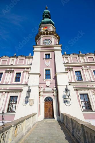 Town hall of Zamosc, Poland
