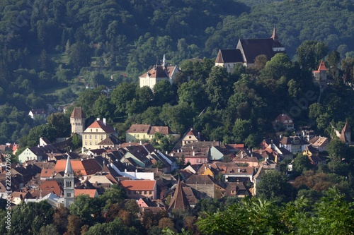 Fotografie, Obraz  Old Town of Sighisoara, Romania
