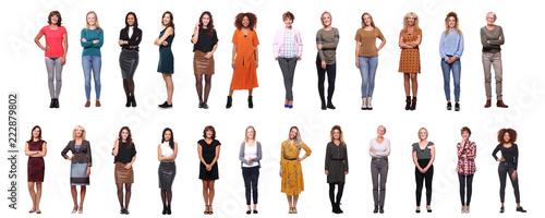 Fotografía  Group of beautiful women
