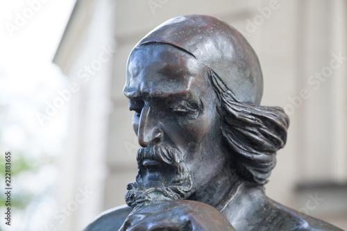 Tuinposter Historisch mon. Bronzeskulptur